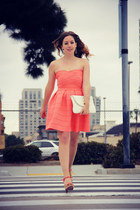 Francescas Collections dress - Steve Madden bag - Poetic License heels