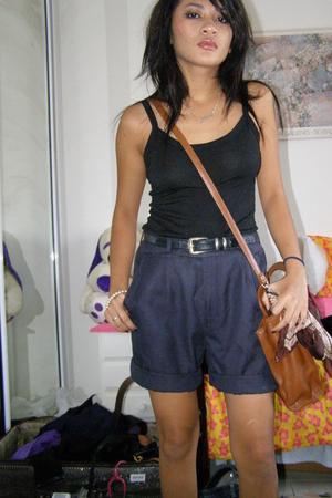 shorts - top - belt