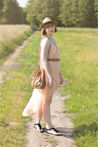 neutral OASAP dress