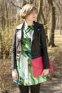 Chartreuse-ax-paris-dress-black-sheinside-jacket-black-asos-flats