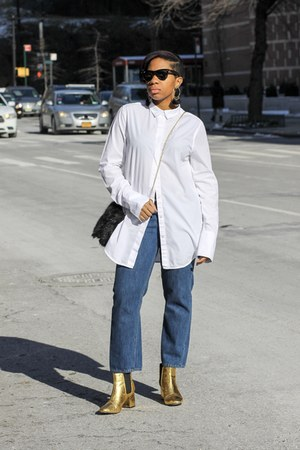 cotton White shirt blouse