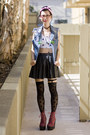 Black-american-apparel-stockings-black-wasteland-skirt-sky-blue-diy-vest