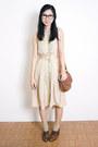 Tan-samantha-pleet-dress
