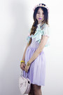 Light-purple-american-apparel-dress