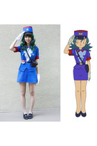 black American Apparel shoes - navy Handmade Officer Jenny Costume dress