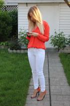 Zara jeans - Zara shirt - Zara sandals