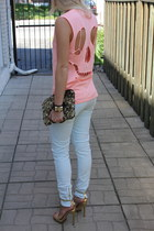 Zara t-shirt - Zara bag - Zara pants - Zara sandals - Queens Wardrobe bracelet