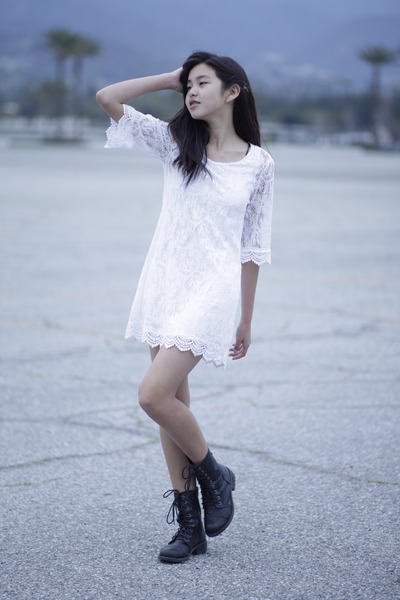 Ivory Lace Hm Dresses Black Laceup Jcpenney Boots Were Having