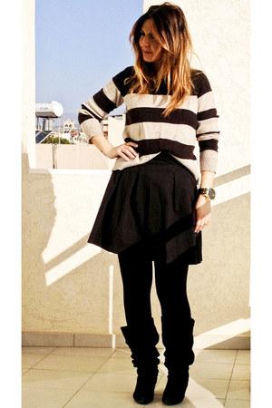 H&M jumper - Mango skirt