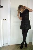 just female dress - leggings - Topshop boots
