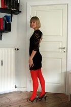 John Zack dress - H&M tights - shoes