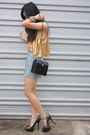 Gold-cotton-on-top-black-thirfted-shorts-black-thrifted-accessories-gold-z