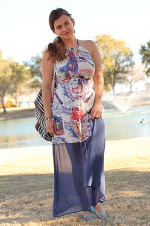 blue maxi Peter Som for DesigNation dress