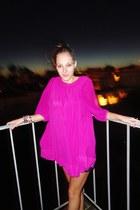 hot pink mini dress uknown dress