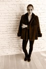 Dark-brown-vintage-mink-coat-black-7-for-all-mankind-jeans