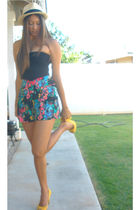 American Apparel top - Forever 21 shorts - Forever 21 hat - Nine West shoes - Fo