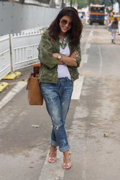 boyfriend jeans bershka jeans camo city by fashion avenue chictopia. Black Bedroom Furniture Sets. Home Design Ideas