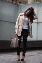 trench coat suiteblanco jacket - Louis Vuitton bag