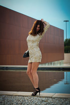 sequins suiteblanco dress
