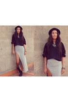 velvet jacket vintage jacket - grey maxi skirt asos skirt