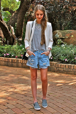 Zara blazer - Shellys London shoes - Mr Price shorts