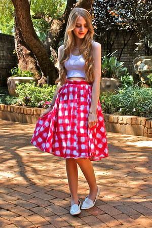 flared MrPrice skirt