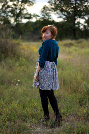 Urban Outfitters dress - thrifted skirt - Target heels