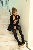 American Apparel skirt - Windsor Smith shoes - asos shirt - Michael Kors watch
