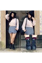 Ebay boots - Zara jumper