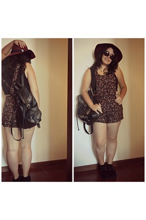 Primark shoes - Zara hat - Lefties shorts