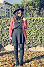 Forever-21-boots-river-island-dress-stradivarius-blazer-forever-21-glasses