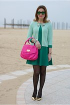 aquamarine Giorgia & Johns cardigan - green pull&bear dress