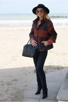 black Le Silla boots - tawny Dani jacket - black Givenchy bag