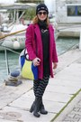 Gray-marc-ellis-boots-hot-pink-fuchsia-persunmall-coat