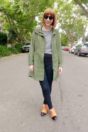 cap toe nanette loeffler randall boots - skinny BDG jeans