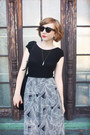 Maxi-forever-21-skirt-suede-zara-bag-pretty-penny-sunglasses