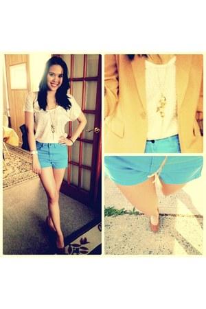 blazer - heels