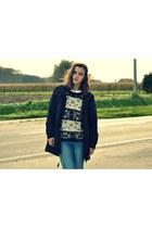 Molly Bracken sweater - Esprit jacket - H&M pants