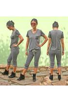Haute Alternative top - crop sweats Alternative clothing pants