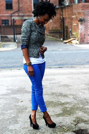 Primark jacket - TK Maxx shoes - new look jeans - Primark t-shirt