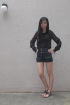 asos shirt - Topshop shorts