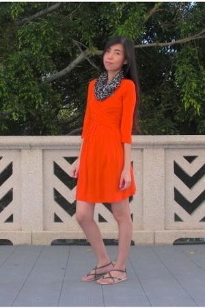 asos dress - Forever21 scarf