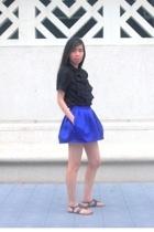 asos shirt - Topshop skirt