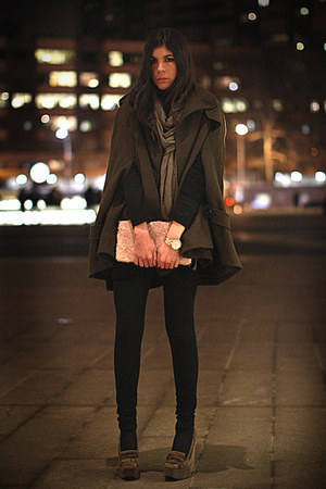 balenciaga shoes - H&M bag - Marc Jacobs watch - asos cape