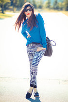 Alexander Wang bag - American Apparel sweater - HUE leggings