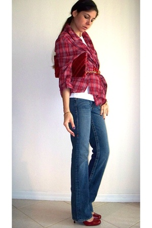 Red - Right - Plaid