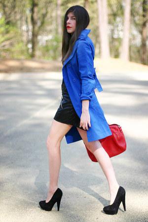 trench coat Victorias Secret coat - Lancaster Paris bag