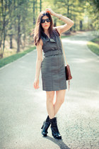 Guess boots - SuperTrash dress - Rebecca Minkoff bag - Marc Jacobs watch