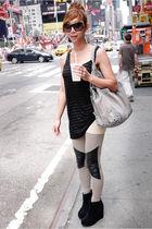 H&M shirt - H&M leggings - Jeffrey Campbell shoes