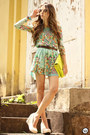 Aquamarine-floral-antix-dress-beige-romwe-sunglasses
